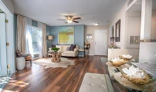 Living Room, River Reach Apartments