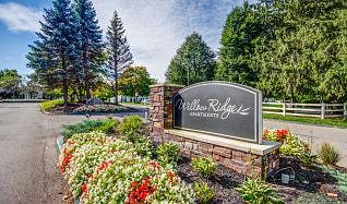 Community Signage, Willow Ridge Apartments-UNDER NEW MANAGEMENT