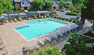 Pool, Shore Acres on the Monon Apartments