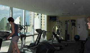 Fitness Weight Room, 9066 SW 73rd Ct Apt 1501
