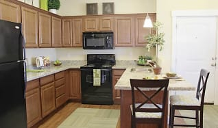 Kitchen, Riverwalk Luxury Apartments