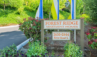 Community Signage, Forest Ridge Apartment Homes