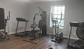 Fitness Weight Room, Dunwoody Court