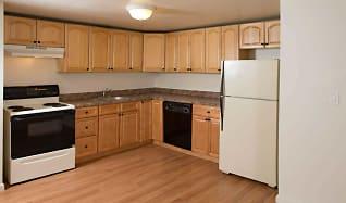 Kitchen, Village Crest Apartments