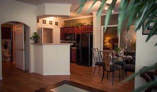 Living Room, The Plantation Apartments