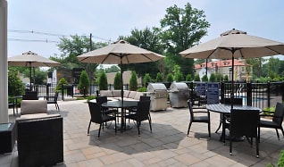 Patio / Deck, Woodmont Station at Cranford