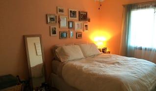 Bedroom, Broadway West Apartments