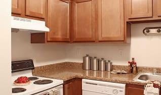 Kitchen, Peachtree Apartments