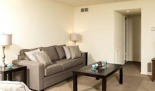 Living Room, Driftwood Club Apartments