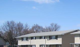 Building, Pine Manor Apartments