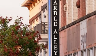 Community Signage, Marble Alley Lofts