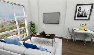 Living Room, Moanalua Hillside Apartments