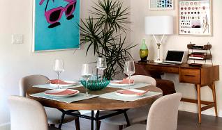 Dining Room, Villas at Playa Vista - Malibu