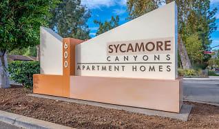 Community Signage, Sycamore Canyons