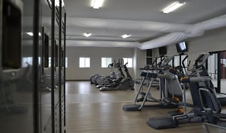 Fitness Weight Room, Tallgrass Apartments