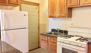 Kitchen, 7100 N. Sheridan Apartments