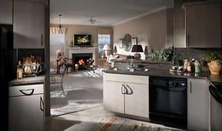 Kitchen, The Crest At Elm Tree