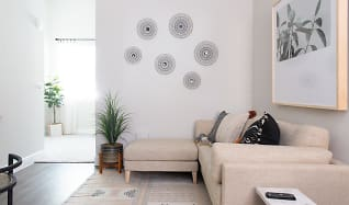 Living Room, FLORA Apartments