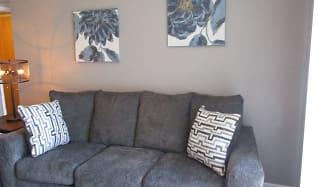 Living Room, Stonecreek Apartments