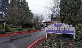 Community Signage, Zachary Park