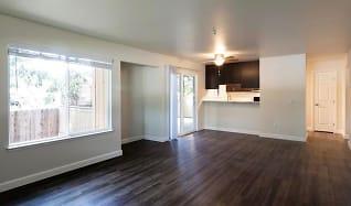 Living Room, Spring Club Apartments