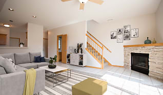 Living Room, Crystal Bay Townhomes