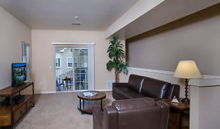 Living Room, 43 North Apartments