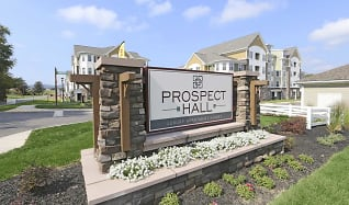 Community Signage, Prospect Hall Apartments and Lofts