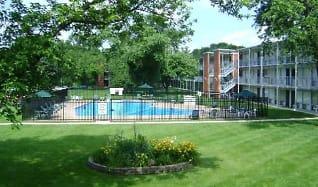 Pool, Cabana Club Apartments
