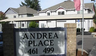 Community Signage, Andrea Place Apartments