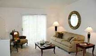Living Room, Prairie Creek Townhomes