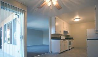 Kitchen, Sunset Villa Apartments