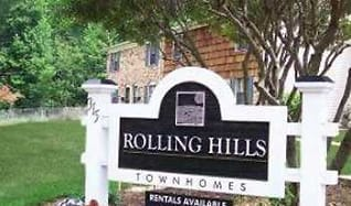 Community Signage, Rolling Hills Townhomes