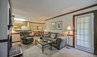 Living Room, Bridgewood Apartments