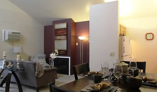 Dining Room, Canterbury Apartments