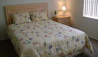 Bedroom, Cabana Club Apartments