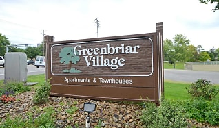 Community Signage, Greenbriar Village Apartments & Townhomes