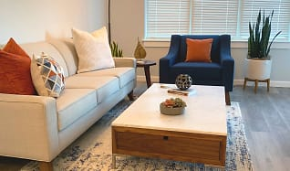 Living Room, Gilbert Crossing Apartments