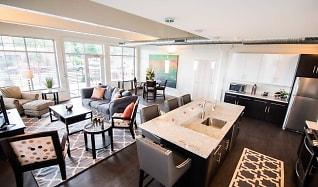 Living/Dining Area, Lofts At Elk Terminal