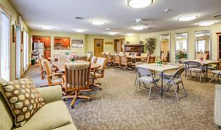 Clubhouse, Hillcrest Senior Apartments