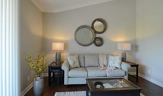 Living Room, The Reserve at Green Luxury Apartments