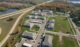 View, Hawks Ridge Apartments