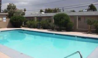 Pool, Living Desert Apartments