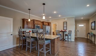 Dining Room, Prairie Pines Townhomes
