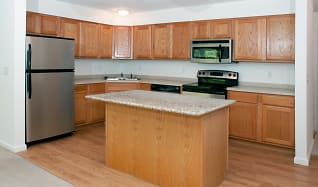 Kitchen, Raspberry Woods Townhomes