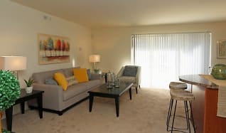 Living Room, Stone Ridge Apartments and Townhomes