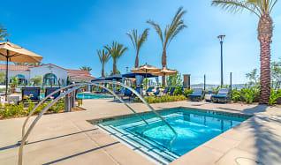 Pool, Montecito Apartments at Carlsbad