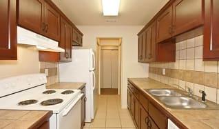 Kitchen, Esquire Apartments