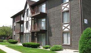 Building, Crestline Villa Apartments