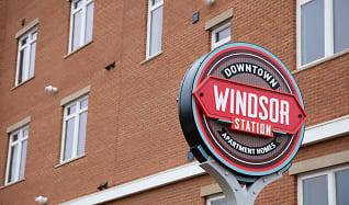 Community Signage, Windsor Station Apartments